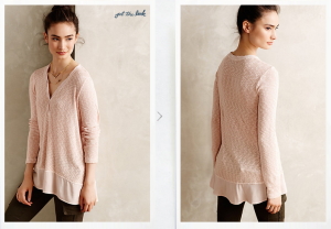 slubstripe pullover